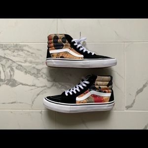 Supreme x Vans Sk8 Hi Blood and Semen Size 9